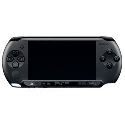 Sony PlayStation Portable PSP E1008 + игра GOD OF WAR GHOST OF SPARTA (PS719218593) (черный)